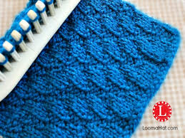 Loom Knit Patterns Extraordinary Loom Knit Stitches Directory Of FREE Patterns With Video
