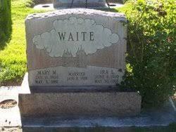 Mary Priscilla Mann Waite (1900-1997) - Find A Grave Memorial
