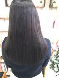 縮毛矯正後の髪に満足していますか エアーストレートノンアイロン弱