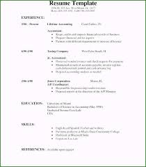 First Resume Sample Excellent Teenager First Resume Template For Your Job