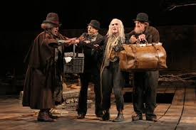 ian waiting for godot photos broadway  waiting for godot pozzo shuler hensley vladimir patrick stewart lucky billy crudup