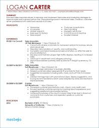 Sales Associate Job Description Resume Example Retail Sales
