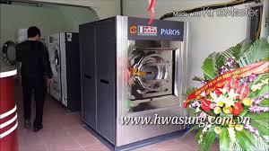 Máy giặt công nghiệp PAROS Hàn Quốc 50kg/mẻ   May giat cong nghiep PAROS  Han Quoc 50kg/me
