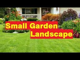 Small Picture Garden Ideas Small garden landscape Pictures Gallery YouTube