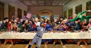 this sports meme version of leonardo da vinci s last supper painting is glorious
