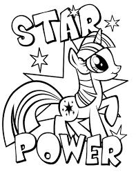 Coloring Book Pages My Little Pony L L L L L L L