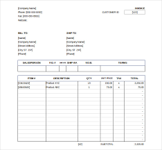Sale Invoice Template Excel Download Free 32 Excel Invoice Templates Word Ai Psd Google Docs