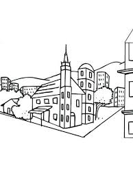 Sweden Coloring Pages City Landscape Coloring Page Swedish Coloring