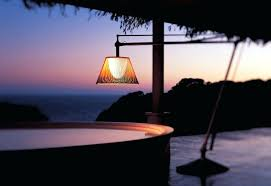 outdoor table lamps for patio led floor lamp purple magnifying outside pole la