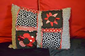 Rag Quilt Pillow Sham Sewing Pattern | A Vision to Remember All ... & Applique Flowers on Pillow Adamdwight.com