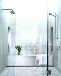 showers small glass shower doors with sparkling silver ceramic tile installation dimension sliding fixed panel small