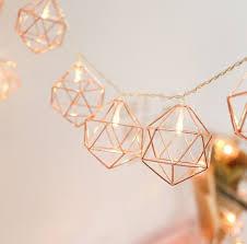 Rose Gold Lights Metal String Lights Suaver 3 3m 10ft 20led Rose Gold Metal