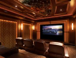 Home Theater Room Design For Fine Custom Home Theater Rooms Media Unique Best Home Theater Design