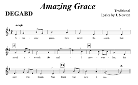 9 Picture Amazing Grace Recorder Finger Chart Www