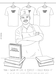 Chance The Rapper Itunes Coloring Book Dessincoloriage