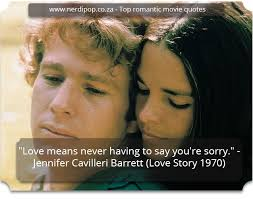 NerdiPop's Top 40 Most Romantic Movie Quotes Simple Romantic Movie Quotes