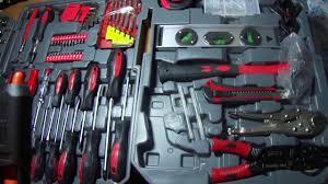 видео <b>Набор инструментов Komfortmax</b> kf 1062 на 187 ...
