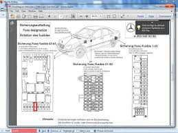 mercedes w fuse box mercedes wiring diagrams