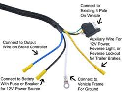 wiring 4 way and 7 way connector on 2004 jeep liberty to tow popup 7 Way Plug Wiring click to enlarge 7 way plug wiring diagram