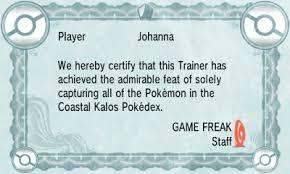 diploma bulbapedia the community driven pokemon encyclopedia xy coastal kalos diploma png