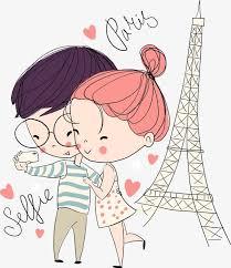 Cute Couple Png Vector Bulk Couple Bulk Couple Lovers Cartoon Couple Png