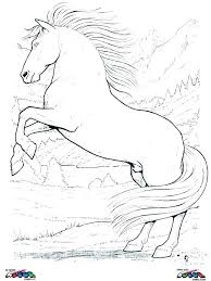Coloring Pages Wild Horses At Getdrawingscom Free For Personal