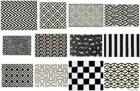 interior where to bold black and white rugs fancy geometric rug present 4
