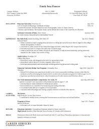 teaching resume services aaaaeroincus prepossessing sample resume resume and career on