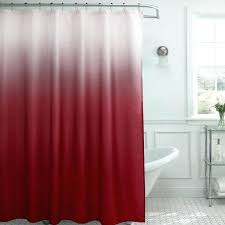 smlf red shower curtains with extra long shower curtain fabric shower curtain liner stall size shower ideas