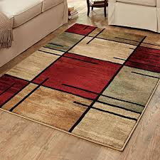 rug pad 5x7 rugs com better homes and gardens e grid rouge area brown carpet