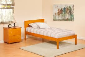 Orlando Bedroom Furniture Atlantic Furniture Orlando Twin Platform Bed With Open Footboard