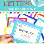 Open When Letters Printable Open When Letters Printable Kit From The