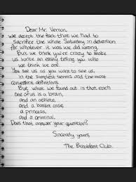 sincerely the breakfast club < jut yess  sincerely the breakfast club <3