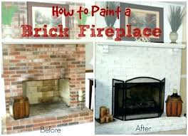 can you paint brick can you paint brick how to paint a brick fireplace paint red brick fireplace grey paint white brick house