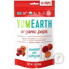 YumEarth <b>Органические леденцы на палочке</b> (гранат, арбуз ...