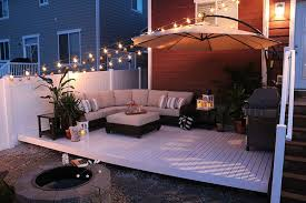 Backyard Decking Designs Classy How To Build A Simple DIY Deck On A Budget Garden Outdoor