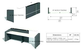 computer desk height standard dimensions adjule table average office medium image ergonomic