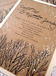 Rustic Winter Wedding Invitations Winter Wedding Invitations Rustic Wedding Invitations Tree Etsy