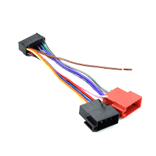 16 pin iso wiring harness connector adaptor loom for sony car stereo wire harness for car stereo diagram Harness Wire For Car Stereo #24