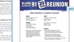 Family Reunion Flyers Templates 5 High School Reunion Flyer Templates Af Templates