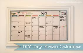 DIY Whiteboard Calendar \u2013 Craftbnb