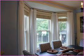 Dining Room Bay Window Treatments Photo Of exemplary Dining Room Bay Window  Curtain Ideas Home Unique