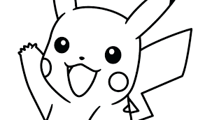 pikachu coloring pages coloring pages to print picture by colouring printable mega pikachu ex coloring