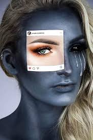 social a face makeup sociala it s time to get inspired by makeup easy and creepy ideas are here from cute princess and unicorn to scary