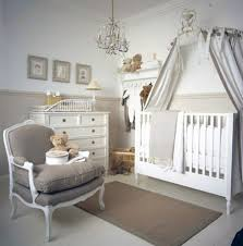 Nursery Bedroom Furniture Baby Room Idea Girl Elegant Use Of Pink In The Bright And