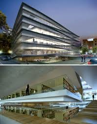 Baton Rouge Downtown Library Concept, Trahan Architects
