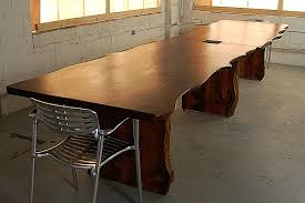 Natural Wood Dining Tables Wood Slab Dining Table For Dining Table Ideas