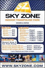 Sky Zone In Memphis Sky Zone Indoor Trampoline Park Fortmyers Indoor