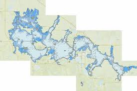 Devils Lake Fishing Map Us_nd_275 Nautical Charts App