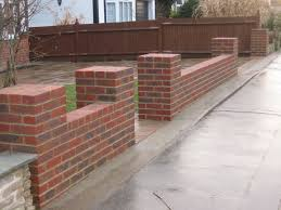 Small Picture Front Garden Brick Wall Designs Awe inspiring Uk London Design
